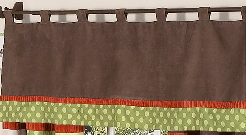 Sweet Jojo Designs Woodland Forest Animals Window Valance