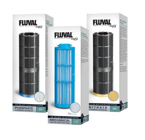 Fluval G6 3-Pack Aquarium Cartridges Filter Media
