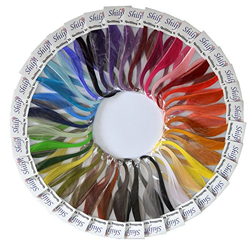 3mm, 35 Colors, 35 packs – Shilpi Quilling Paper 1750 Strips Set