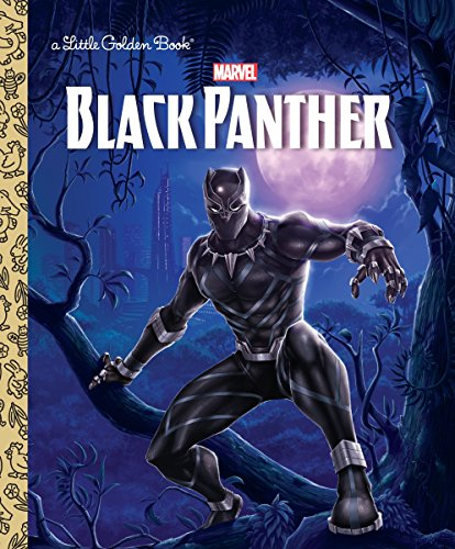 Black Panther Little Golden Book Marvel: Black Panther