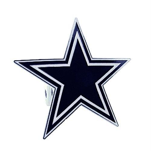 Siskiyou NFL Dallas Cowboys Large Hitch Cover Class II & Class III Metal Plugs, Large, Blue