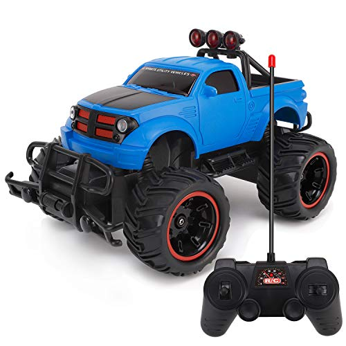 Liberty Imports R/C Monster Pickup Truck Remote Control RTR Electric Vehicle Off-Road Race Car 27MHZ 1:20 Scale