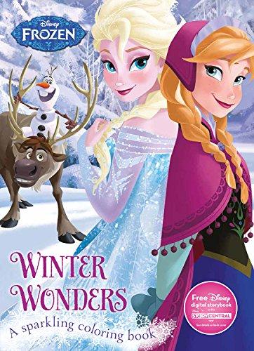 Winter Wonders Coloring Book Disney Frozen  Color Fun!