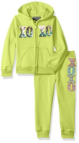 XOXO Girls' Hoodie & Jogger Set