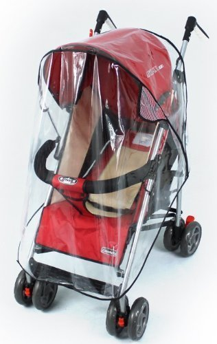 Tojwi Universal Clear Waterproof Rain Cover Wind Shield Fit Most Strollers Pushchair