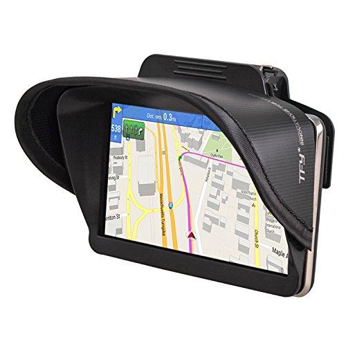 TFY GPS Navigation Sun Shade Visor for Garmin nüvi 42LM 4.3-Inch Portable Vehicle GPS and other 5 Inch GPS