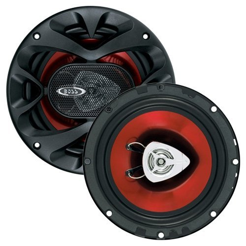 BOSS Audio CH6520 Car Speakers – 250 Watts Of Power Per Pair And 125 Watts Each, 6.5 Inch, Full Range, 2 Way, Sold in Pairs, Easy Mounting