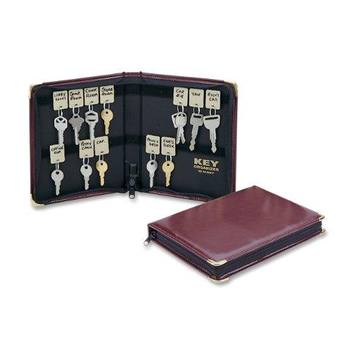 STEELMASTER 24-Key Portable Zippered Key Case 201502417
