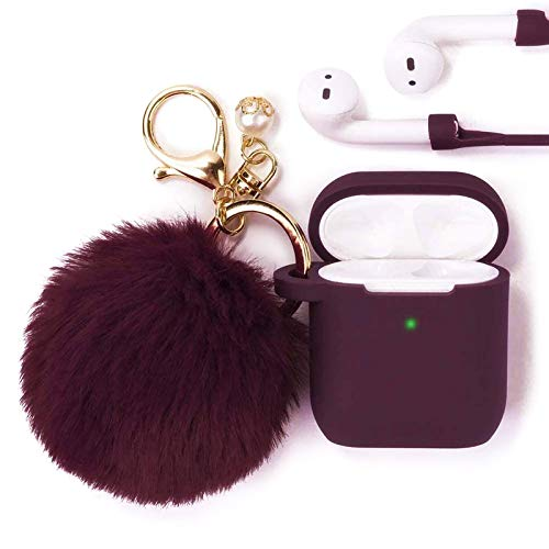 Top 10 Fuzzy Airpod Case Cover – Headphone Cases