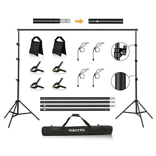 Top 10 8.5 x 10 Ft Photo Backdrop Stand – Photo Background Support Equipment