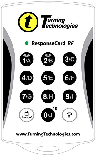 Top 9 Turning Technologies Response Card – Office Presentation Remotes