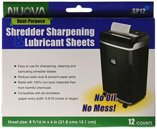 Top 10 Nuova Shredder Sharpening & Lubricant Sheets – Shredders