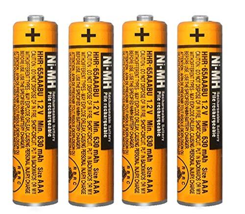 Top 10 HHR-65AAABU 1.2V Panasonic Battery – Cordless Telephone Batteries