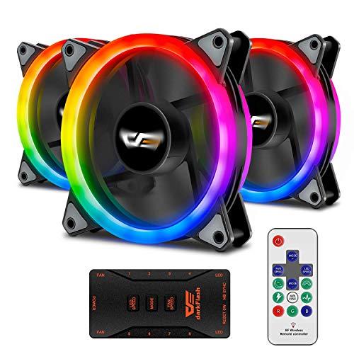 Top 10 Reeven Kiran SYNC 120mm RGB LED – Computer Case Fans