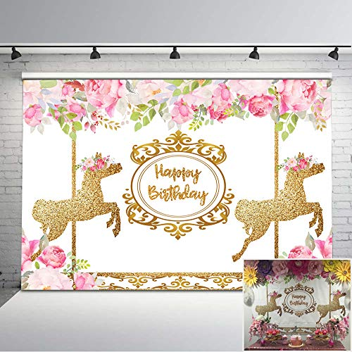 Top 9 Carousel Party Supplies – Photographic Studio Photo Backgrounds