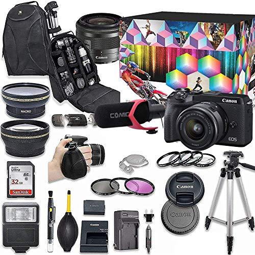Top 10 Content Creator Kit Canon M6 Mark 2 – Mirrorless Cameras