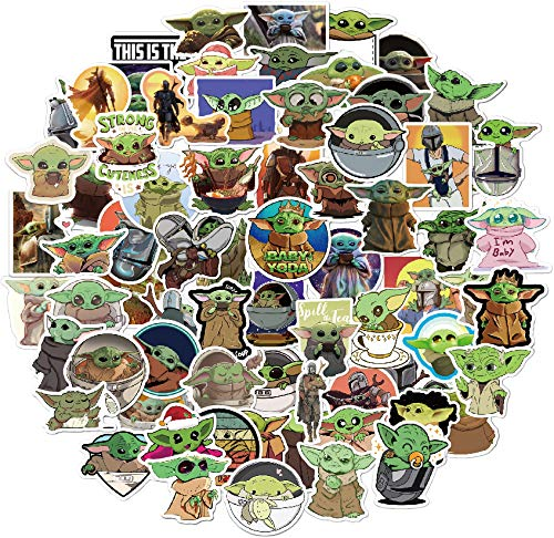 Top 10 Baby Yoda Stickers – Laptop Skins & Decals