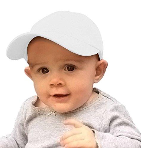 TopHeadwear Infant Cargo Baseball Hat – White