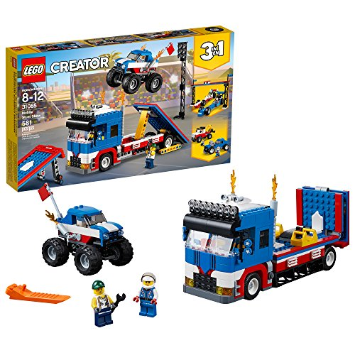 LEGO Creator 3in1 Mobile Stunt Show 31085 Building Kit 580 Piece