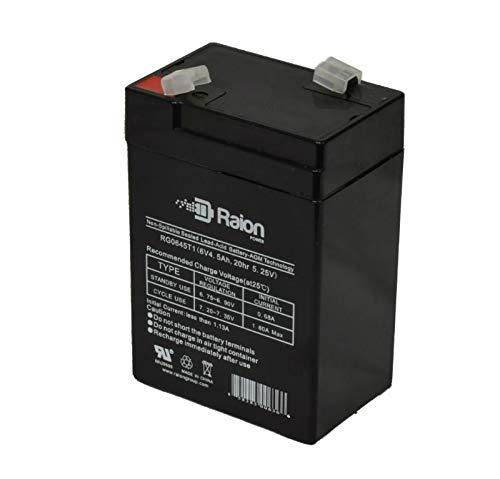 Top 10 4.5Ah 6V Sealed Lead Acid – 6V Batteries
