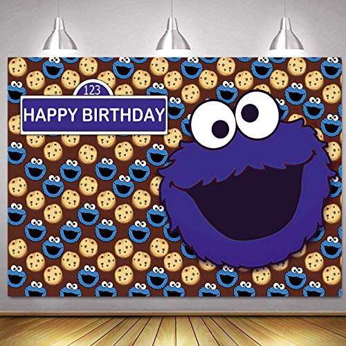 Top 10 Cookie Monster Party – Photographic Studio Photo Backgrounds