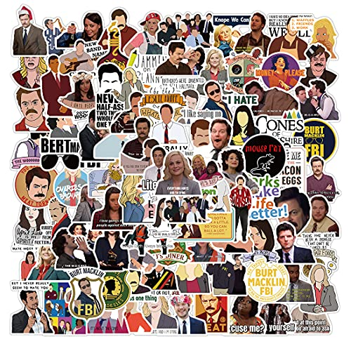 Top 6 Parks and Recreation Stickers – Laptop Skins & Decals